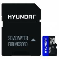 Карта памяти Hyundai microSDHC 32 ГБ UHS-I (SDC32GU1)