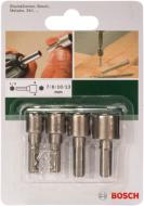 Набор бит Bosch HEX M7/8/10/13 4 шт.