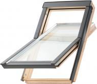 Вікно мансардне з коміром, шторкою та XIT-L2 Optilight ProfiDecor 78x118
