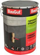 Мастика битумно-каучуковая BauGut гидроизоляция фундамента 18 кг