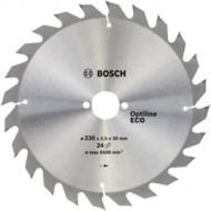 Пиляльний диск Bosch Optiline Wood ECO 230x30x1,5 Z24 2608644381