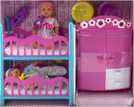 Набір Simba 2 міні-пупса і спальна кімната 5036610