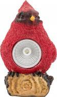 Світильник на сонячній батареї Ecostrum LED Пташка 1,2 Вт IP44 червоний PR01-R