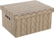 Ящик картонний Global-Pak для зберігання A4 ажур 180x250x330 мм