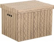 Контейнер для зберігання картонний Global-Pak XL ажур 320x420x320 мм
