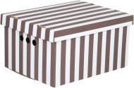 Контейнер для зберігання картонний Global-Pak A4 смужка 180x250x330 мм