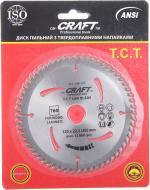 Пиляльний диск Craft 125x22,2 Z60 104-127
