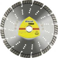 Диск алмазний відрізний Klingspor Турбо 125x2,4x22,2 універсальний DT612UT