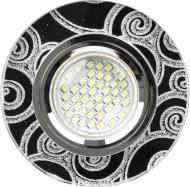 Світильник точковий Blitz G5.3 чорний зі сріблястим BL002S1/67 1W СН