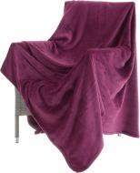 Плед Basic 220x200 см пурпурний La Nuit