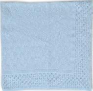 Простынь Фламинго 90х90 см голубой 780