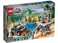 Конструктор LEGO Jurassic World Сутичка з Барионіксом: Пошук скарбів 75935