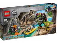 Конструктор LEGO Jurassic World Бій тиранозавра проти робота-динозавра 75938