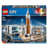Конструктор LEGO City Ракета для проникнення вглиб космічного простору з контролем пуску 60228