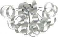 Люстра стельова Інтерклас НСБ 04-5хХХ-215 5xG9 алюміній 12065-5 алюміній