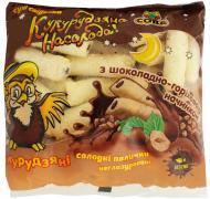 Палички кукурудзяні Сова з шоколадно-горіховою начинкою 115 г