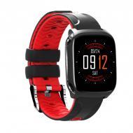 Умные часы Smart band QW12 с тонометром Red (SB001QW12R)