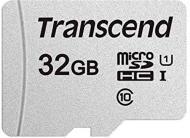 Карта памяти Transcend microSDXC 32 ГБ Class 10 (TS32GUSD300S) UHS-I R95/W45MB/s