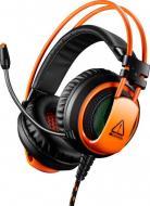 Гарнітура ігрова Canyon Corax GH-5 black/orange (CND-SGHS5A) Gaming