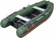 Човен KOLIBRI KM-360DSL.04.01 зелений