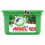 Капсули для машинного прання Ariel Pods Все-в-1 + Екстра OXI Effect 12 шт.