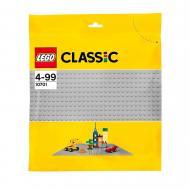Конструктор LEGO Classic Базова пластина сірого кольору 10701