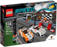 Конструктор LEGO Speed Champions Фініш Порше 911 GT 75912