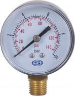 Манометр вертикальний Gross 50 мм 10.0 Bar