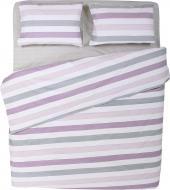Комплект постільної білизни Смужка 2,0 рожевий La Nuit