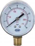 Манометр Gross вертикальний 50 мм, 16.0 Bar