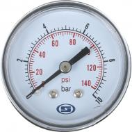 Манометр Gross горизонтальний 50 мм 10.0 Bar
