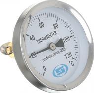 Накладний термометр Gross з пружиною O63 мм (0-120°С)