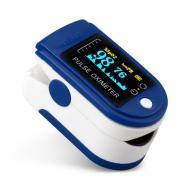 Пульсоксиметр S6 (пульсометр) OLED дисплей напалечний
