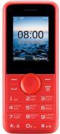 Мобільний телефон Philips E106Xenium red