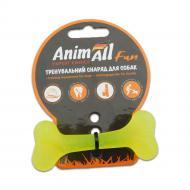 Іграшка для собак AnimAll Кістка 8 см жовта 88101