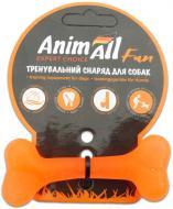 Іграшка для собак AnimAll Кістка 8 см помаранчева 88102