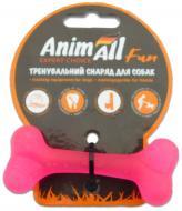 Іграшка для собак AnimAll Кістка 8 см коралова 88103