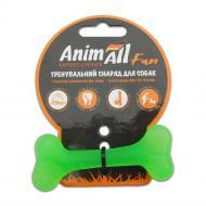 Іграшка для собак AnimAll Кістка 8 см зелена 88105