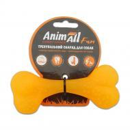 Іграшка для собак AnimAll Кістка 12 см жовта 88111
