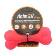Игрушка для собак AnimAll Кость 12 см коралловая 88113