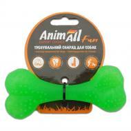 Іграшка для собак AnimAll Кістка 12 см зелена 88115