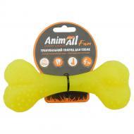 Игрушка для собак AnimAll Кость 15 см желтая 88121