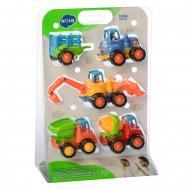 Набор машинок Limo Toy 326 Стройтехника 4 шт