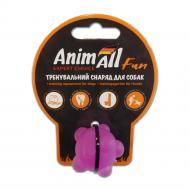 Игрушка для собак AnimAll Шар молекула 3 см фиолетовый 88134