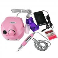 Машинка для маникюра и педикюра фрезер Beauty nail DM-202 Pink