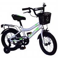 Велосипед дитячий Like2bike 14'' Fly сірий 211410