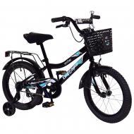 Велосипед дитячий Like2bike 16'' Fly чорний 211614
