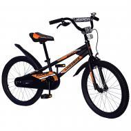 Велосипед дитячий Like2bike 20'' Fly чорний 212016