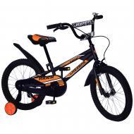 Велосипед дитячий Like2bike 18'' Fly чорний 211807