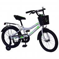 Велосипед дитячий Like2bike 18'' Fly сірий 211814
